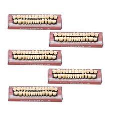 140pc 5Set Denture Acrylic Resin Full Set Teeth Upper Lower Shade 23# A3 Dental