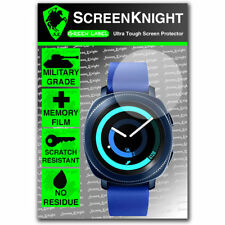 ScreenKnight Samsung Galaxy Gear Sport SCREEN PROTECTOR - military shield