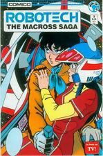 Robotech: the Macross saga # 3 (états-unis, 1985)