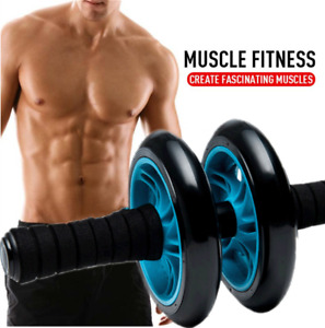 AB Wheel Roller Abdominal Roller Abs Workout Exercise Fitness Home Gym Equipment