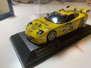 Action 1/43 2001 Corvette #3 Daytona 24 Earnhardt Jr Sr Pilgrim Collins 4011403