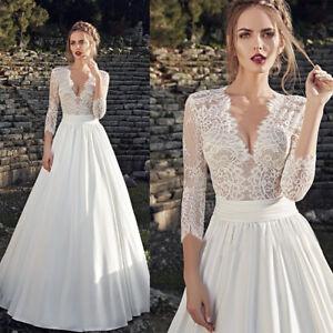 Spitze A-Linie Brautkleid Hochzeitskleid Kleid Braut Babycat collection BC869 36