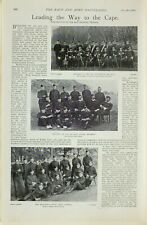 1899 PRINT EMBARKATION 2nd INFANTRY BRIGADE QUEENS ROYAL WEST SURREY FIELD DAY