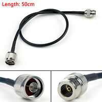 50cm Kable N Male Stecker To N Female Buchse Gerade Crimp Coax Pigtail 20in A3