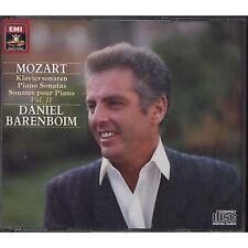 DANIEL BARENBOIM Mozart Klaviersonaten vol. 2 II 3 CD 1985 OTTIME CONDIZIONI (R)