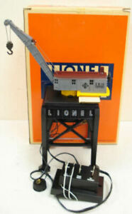 Lionel 6-12700 Erie Operating Magnetic Gantry Crane LN/Box