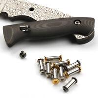 Messer Schraubennietwerkzeuge für Messergriff Plattenbefestigung VerarbeitungXUI