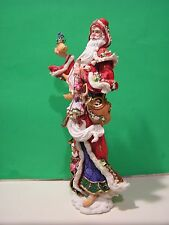 LENOX PERE NOEL 2005 SANTA International Pencil sculpture NEW in BOX with COA
