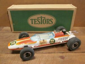 1970 TESTORS SPRITE SPECIAL, Gas Powered INDY CAR, TETHER CAR, Near Mint in Box