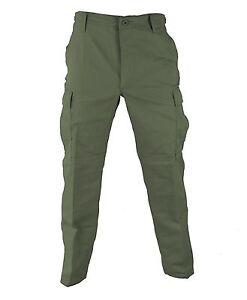 OD BDU Tactical Military Pants Propper Uniform Gear Zipper Fly 60/40 Ripstop
