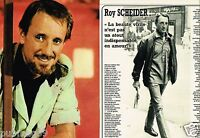 Coupure de Presse Clipping 1980 (2 pages) Roy Scheider
