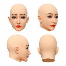 IMI D Cup Silikonbrüste Crossdresser Movie Props Halloween Female Face Headwear