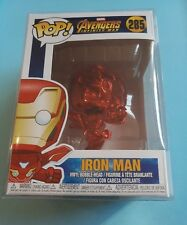 Funko pop IRON MAN CHROME - red 285 - Avengers Infinity War Marvel - rare