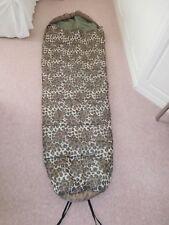Camouflage sleeping bag, mummy style