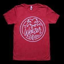 Weezer - Official Wavy Heather Red Tour Concert T-Shirt Size Xxl