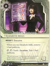 Android Netrunner LCG 1x Elizabeth Mills  #037 Second Thoughts