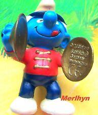 20495 Schtroumpf aux cymbales fanfare Smurf pitufo puffi puffo schtroumpfette TR