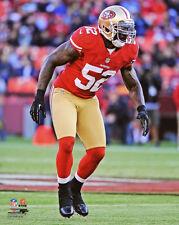 San Francisco 49ers PATRICK WILLIS Glossy 8x10 Photo NFL Print Poster