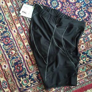 New Craft Active Shorts Size Extra Extra Large (XXL) Black