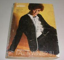 1981 MONTGOMERY WARD FALL & WINTER CATALOG