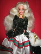 B19) vecchi Bionda Special Happy Holidays BARBIE MATTEL 1994 Gala International