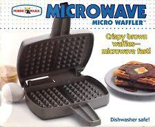 Nordic Ware Microwave Waffler BRAND NEW - Crispy Brown Waffles - Microwave Fast