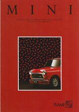 AUSTIN MINI FLAME RED, Prospectus 1990
