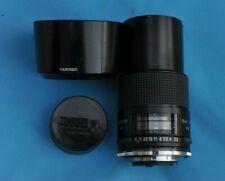 Tamron 90mm f/2.5 Macro ADII with Nikon AI adaptor