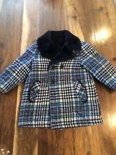 Vintage Sears Winnie the Pooh collection jacket children sz 5 plaid Blue