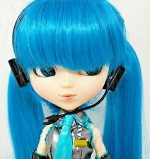 """Pullip Groove Vocaloid Hatsune Miku Asian Fashion Doll 12"""" Blue Hair w/ Box EUC"""