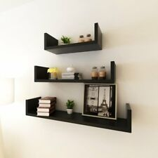 Home Decor 3 Shelf Display Floating Nesting Wall Decorative Mount Ledge Storage