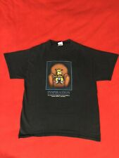 Vintage Delta Bart Simpson TV Inspiration Navy Blue Mens T-Shirt Size Medium
