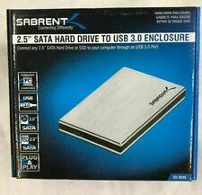 """Sabrent 2 1/2"""" Hard Drive to USB 3.0  Enclosure (EC-SS25)"""