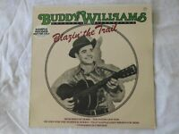 Buddy Williams Blazin' the Trail- Rare DJ Promo-LP- 1st Pressing-Mint (unplayed)