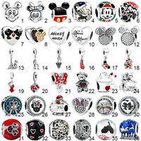 Cartoon charms silver bead for european jewelry bracelet necklace chain