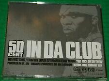 50 Cent In Da Club PromoAdvanced Rare CD 2 track Clean Instrumental INTR-10898-2