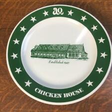 "Vintage AQ CHICKEN HOUSE Homer Laughlin 9 5/8"" PLATE Restaurant Ware Springdale"