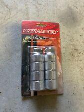"NOS Odyssey First Strike Axle Pegs. Silver 3/8"" Old School BMX GT Haro"