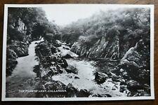 Callander, The Pass of Leny. Real Photo Vintage J.B. White. # 1201 Postcard
