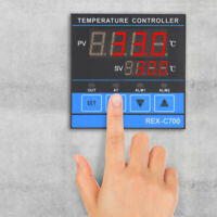 REX-C700 Temperature Controller Accurate PID Control RELAY+SSR Output 0-400℃