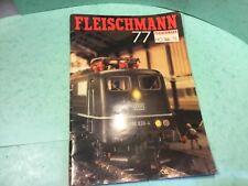 Fleischmann train magazine 77 beatties of London 83 pages