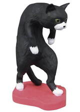 Cat Kitten Stoop Capsule Desktop Figure Part 1- Kutsushita Black
