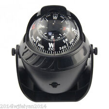 Illuminated Sea Marine Compass with DC 12V Night Light Car Truck Boat Navigation