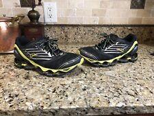 Mizuno Wave Prophecy 2 4 5 6 7 Black / Yellow Men's Running Shoes