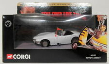 Véhicules miniatures blancs Corgi Toyota