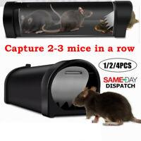 Plastic Reusable Small Mousetrap Rat Trap Rodent Catcher Pest Control Mousetrap#