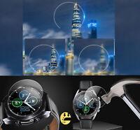 Gehärtete Glasfolie Schutz für 41 / 45mm Samsung Galaxy Watch3 R840 Hoch klar