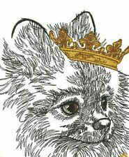 New Listing Pomeranian Dog Bathroom Set Of 2 Hand Towels Embroidered