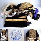 Military Antique Chokuninkan Court Uniform Set Phoenix Saber Jacket 1886 JAPAN