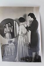 27096 großes UFA Film Presse Foto mit Autogramm ILSE WERNER um 1938 real photo